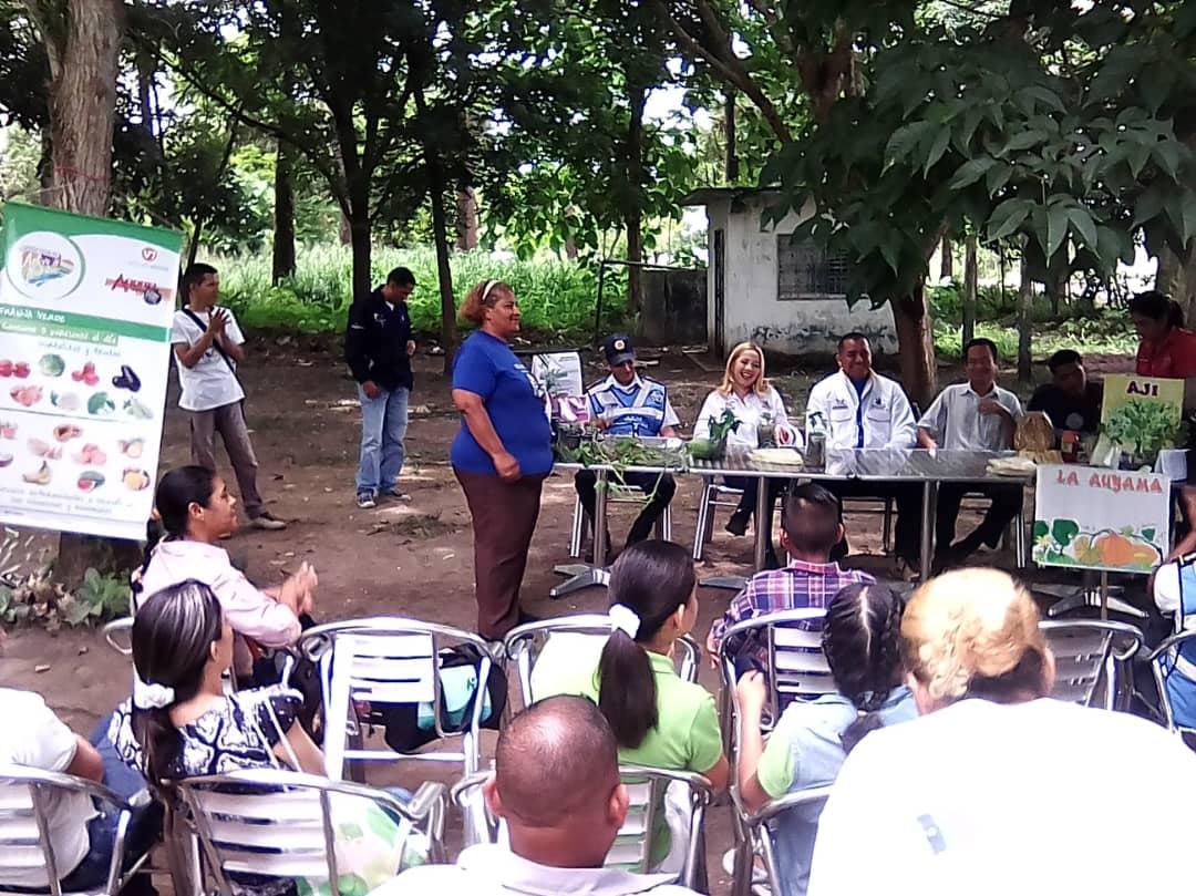 Inparques Monagas participa en 1er Festival de Semillas de Misión Árbol