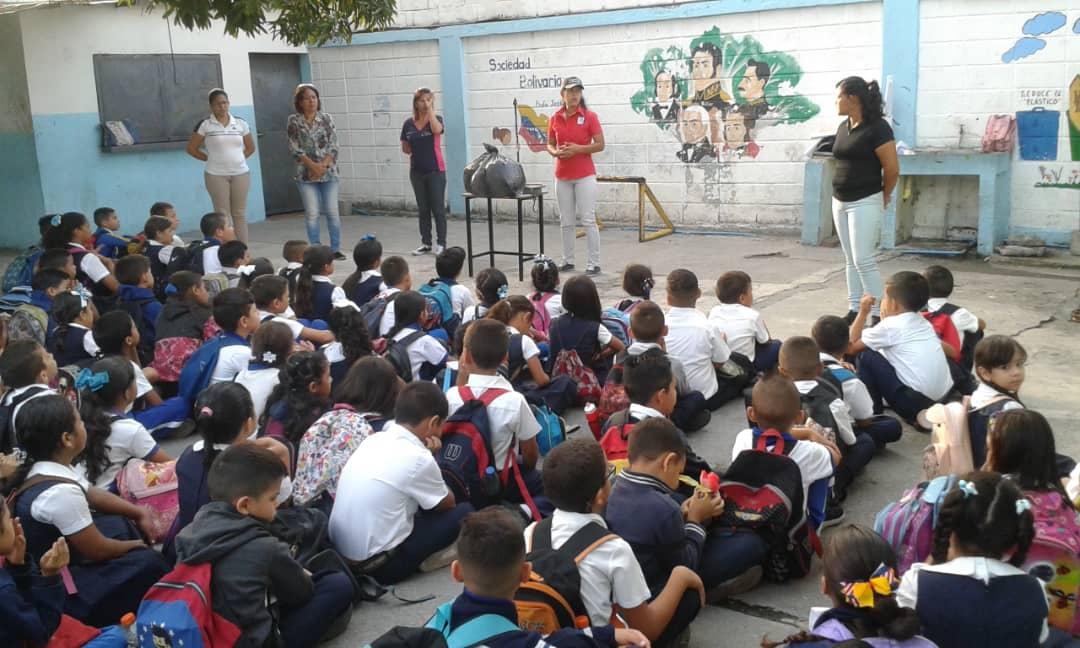 Inparques Yaracuy fomenta el reciclaje en Brigadas de Pequeños Guardaparques