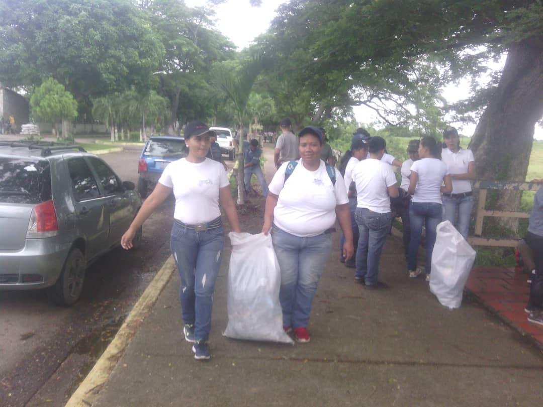 Inparques Apure participó en jornada de saneamiento ambiental