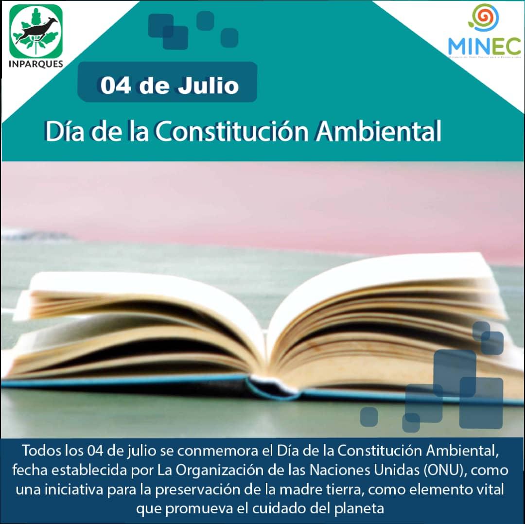 El Día de la Constitución Mundial Ambiental impulsa la conservación
