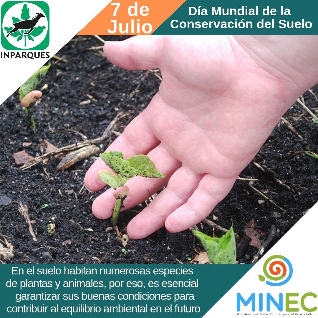 07 de julio: Día Mundial de la Conservación del Suelo
