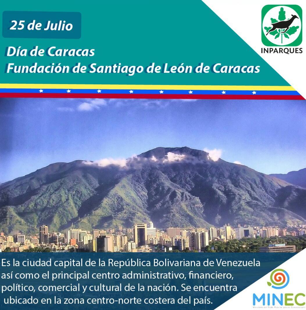 Caracas está más bella en su 452 aniversario