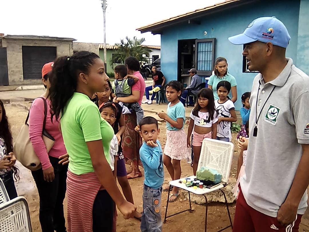 Inparques trabaja con Misión Vivienda en comunidades del municipio Maturín