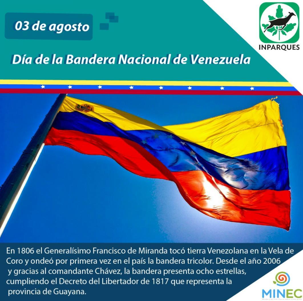 El Día de la Bandera Nacional recuerda la hazaña mirandina de 1806