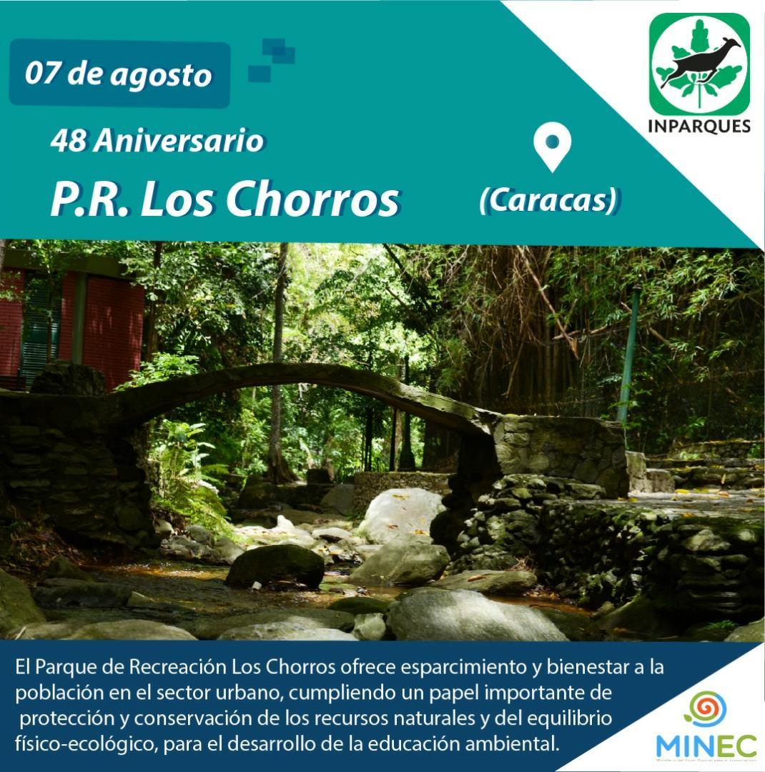 Caraqueños celebran 48 años del Parque Recreacional Los Chorros