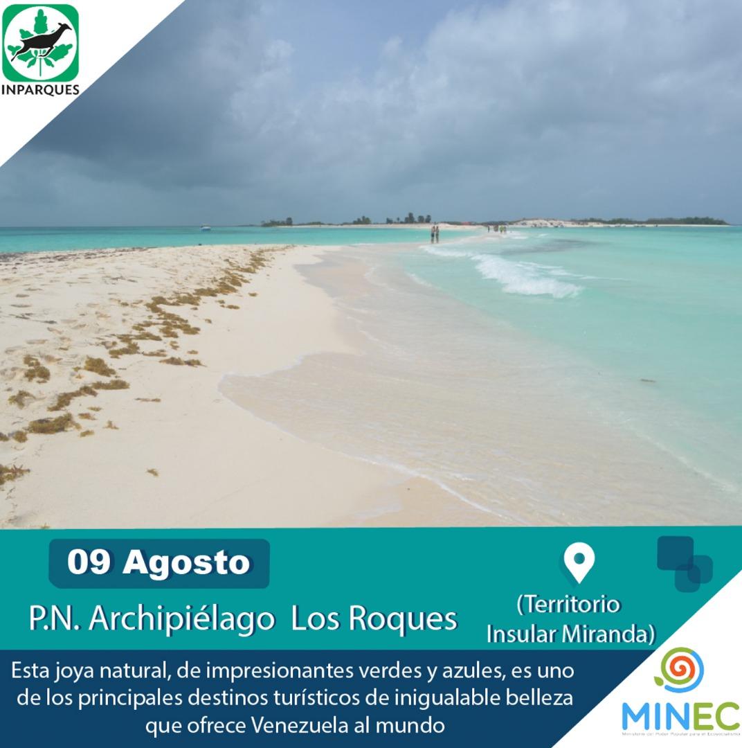 El Parque Nacional  Archipiélago Los Roques protege un tesoro coralino