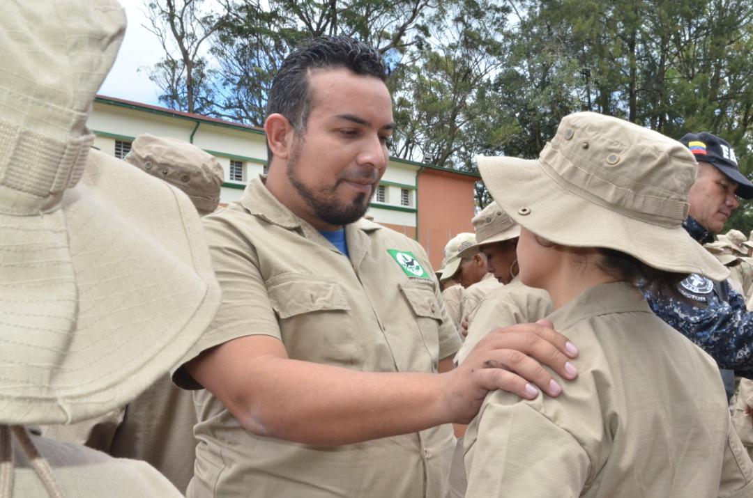 Presidente de Inparques entregó jerarquías a guardaparques del estado Miranda